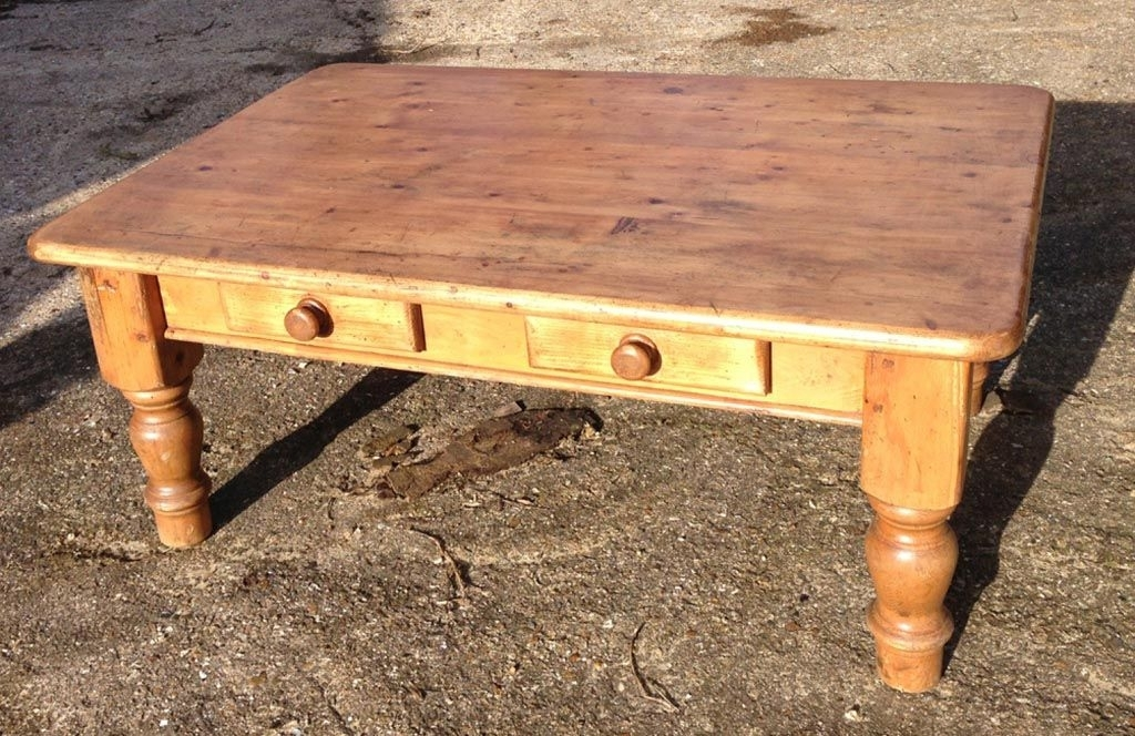 Antique Pine Coffee Table | Coffee Tables | Pinterest | Pine Coffee Pertaining To Antique Pine Coffee Tables (Image 6 of 40)