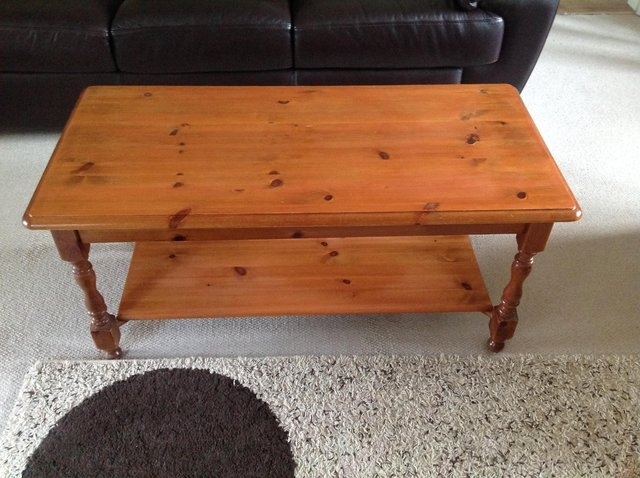 Antique Pine Coffee Table For Sale In Great Missenden, Bucks | Preloved In Antique Pine Coffee Tables (Image 11 of 40)
