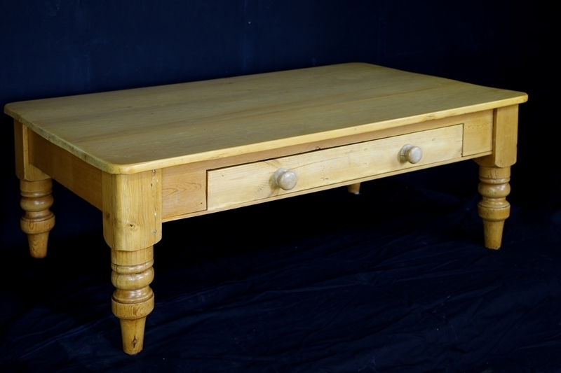Antique Pine Farmhouse Coffee Table Painted Vintage, Antique Throughout Antique Pine Coffee Tables (Image 15 of 40)