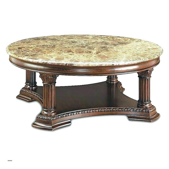 Antique Round Marble Top Coffee Table Oval Marble Top Coffee Table Pertaining To Smart Large Round Marble Top Coffee Tables (View 34 of 40)