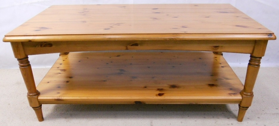Antique Style Pine Long Coffee Tableducal – Sold With Regard To Antique Pine Coffee Tables (Image 21 of 40)