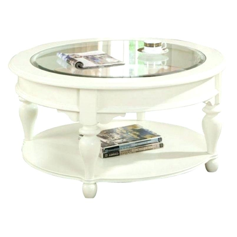 Antique White Coffee Table End Table – Spiritualhomes (Image 4 of 40)