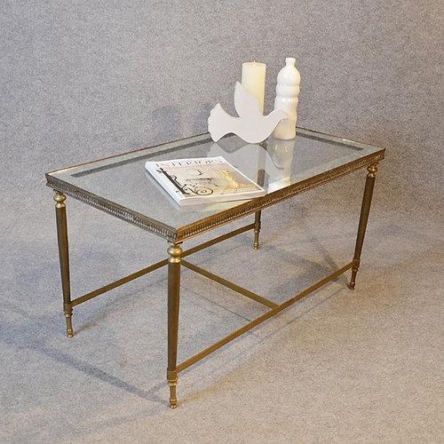 Antiques Atlas – Coffee Table Art Deco Brass Glass Top With Antique Brass Coffee Tables (View 5 of 40)