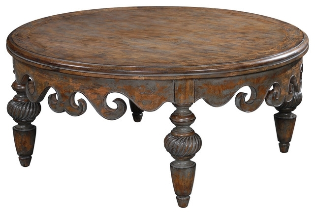Antoinette Cocktail Table – Traditional – Coffee Tables Ambella Pertaining To Traditional Coffee Tables (View 11 of 40)