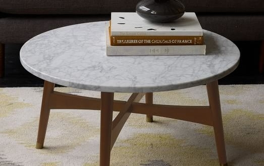 Appealing Marble Cocktail Table Of Alcide Rectangular Coffee Reviews In Alcide Rectangular Marble Coffee Tables (View 22 of 40)
