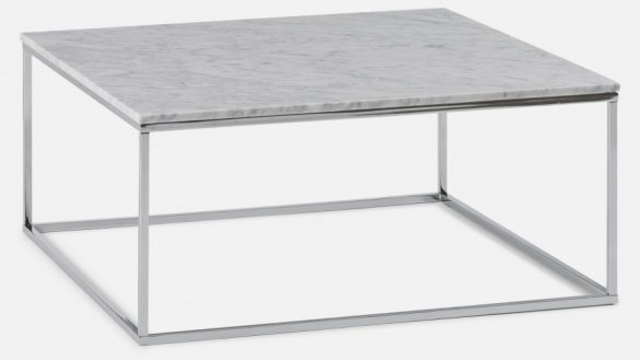 Appealing Marble Cocktail Table Of Alcide Rectangular Coffee Reviews In Alcide Rectangular Marble Coffee Tables (View 7 of 40)