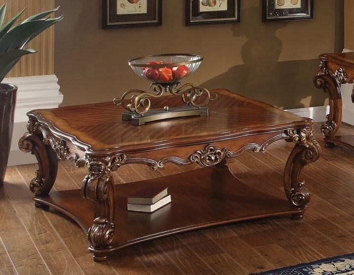 Appealing Traditional Coffee Table With Living Room Best Traditional In Traditional Coffee Tables (View 16 of 40)