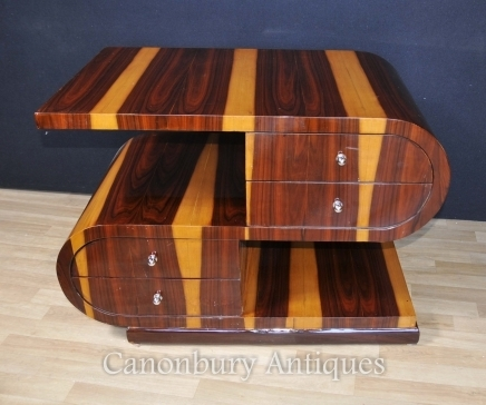 Art Deco Coffee Tables – Canonbury Antiques Throughout Antiqued Art Deco Coffee Tables (Image 14 of 40)