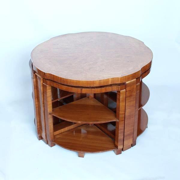 Art Deco End Table Antiques Century Art Elm Birch Coffee Table Art For Antiqued Art Deco Coffee Tables (Image 16 of 40)