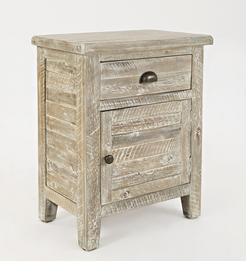 Artisans Craft Accent Table (Washed Grey) – Occasional And Accent Pertaining To Blanton Round Cocktail Tables (View 30 of 40)