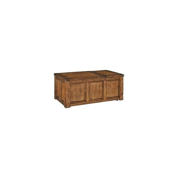 Ashley Trunk Coffee Table Furniture Living Room Tables Medium Size With Chiseled Edge Coffee Tables (View 28 of 40)