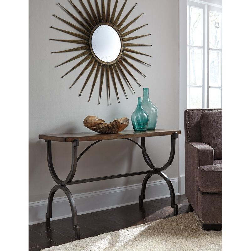 Baybrin Sofa Table Furniture Near Tempe, Az | Phoenix Furniture Outlet Within Baybrin Cocktail Tables (View 10 of 40)