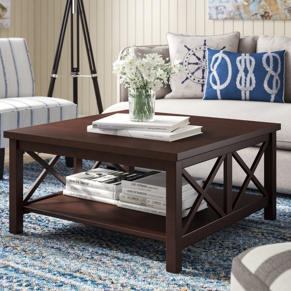 Bayshore Coffee Table | Wayfair Throughout Autumn Cocktail Tables With Casters (Image 6 of 40)