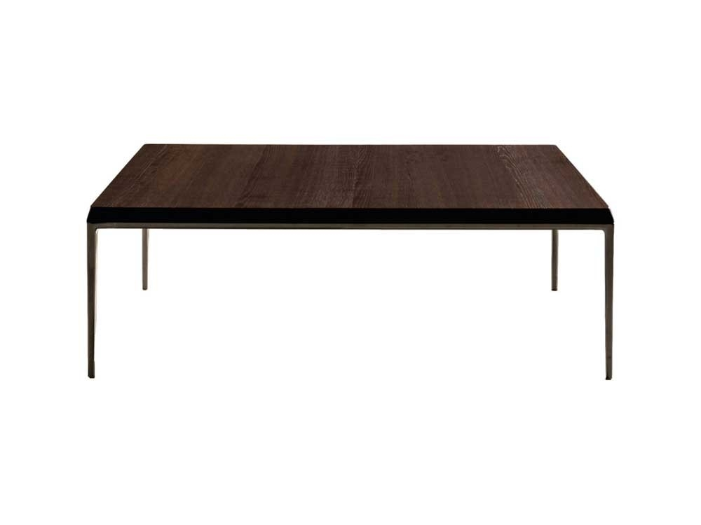 B&b Italia Michel Coffee Table – Smoked Oakantonio Citterio Pertaining To Smoked Oak Coffee Tables (View 18 of 40)
