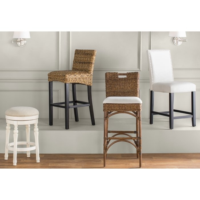 Beachcrest Home Carissa Bar & Counter Stool & Reviews | Wayfair (Image 8 of 40)