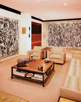 Ben Heller's Mid Century Nyc Apartment Throughout Expressionist Coffee Tables (Image 11 of 40)