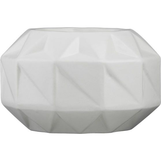 Bennie Low Vase Planter | West Village Furniture | Pinterest In Geo Faceted Coffee Tables (Image 2 of 31)