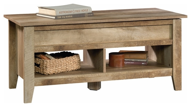 Bentley Lift Top Coffee Table, Craftsman Oak – Farmhouse – Coffee With Craftsman Cocktail Tables (Image 3 of 40)