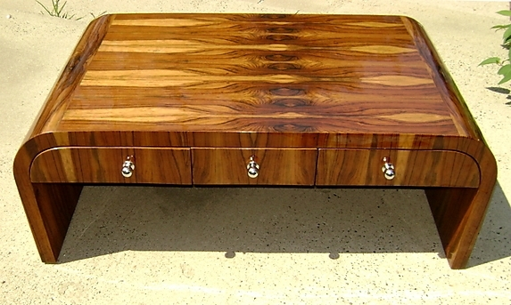 Best Art Deco Coffee Table Spectacular Rosewood Art Deco Large Pertaining To Antiqued Art Deco Coffee Tables (Image 21 of 40)
