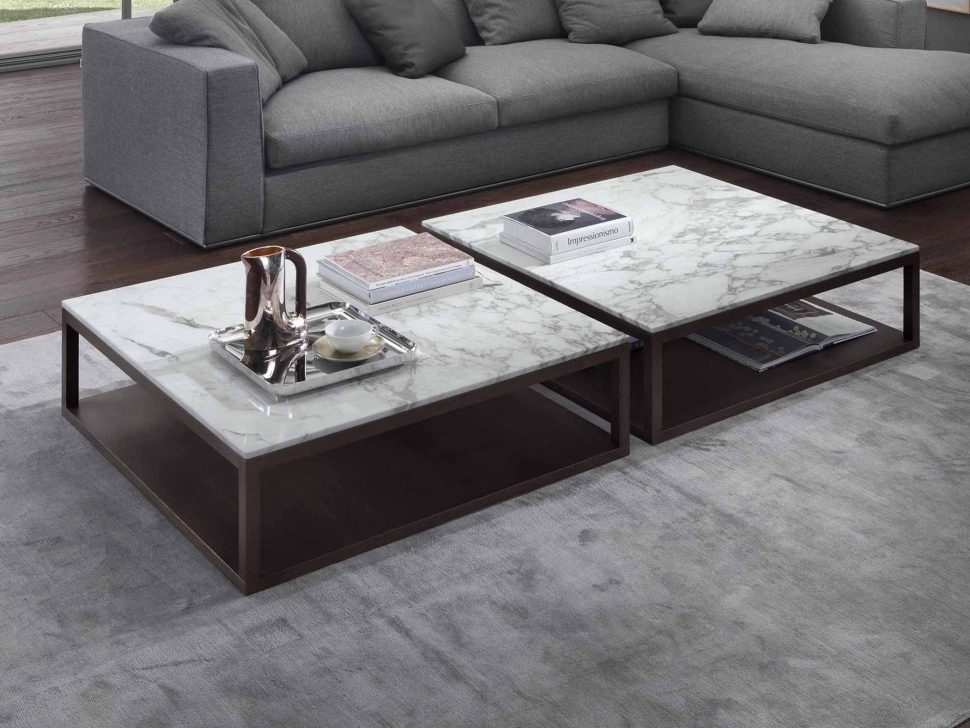 Best Choice Of Marble Top Coffee Tables In Table White Glass Intended For Smart Round Marble Top Coffee Tables (Image 6 of 40)