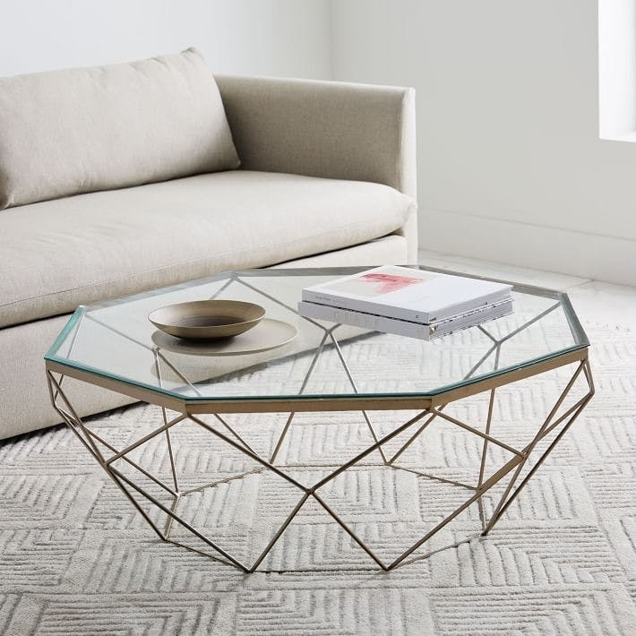 Best Coffee Tables For Your Home | Brit + Co Regarding Contemporary Curves Coffee Tables (View 16 of 40)