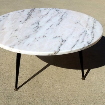 Best Marble Coffee Table Base Products On Wanelo Throughout Mid Century Modern Marble Coffee Tables (Image 2 of 40)