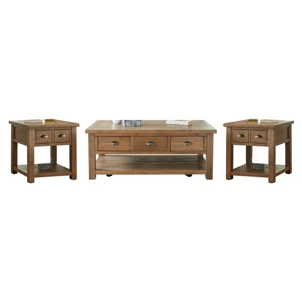 Birch Lane™ Seneca 3 Piece Coffee Table Set & Reviews | Birch Lane Regarding Seneca Lift Top Cocktail Tables (View 27 of 40)