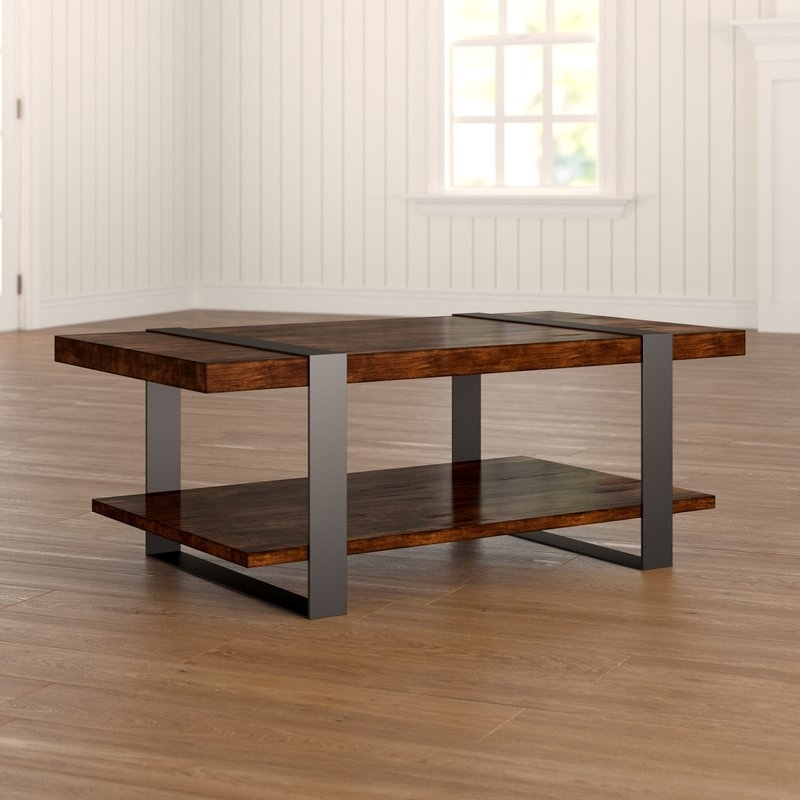 Birch Lane™ Tillman Coffee Table & Reviews | Wayfair Regarding Tillman Rectangle Lift Top Cocktail Tables (Image 12 of 40)