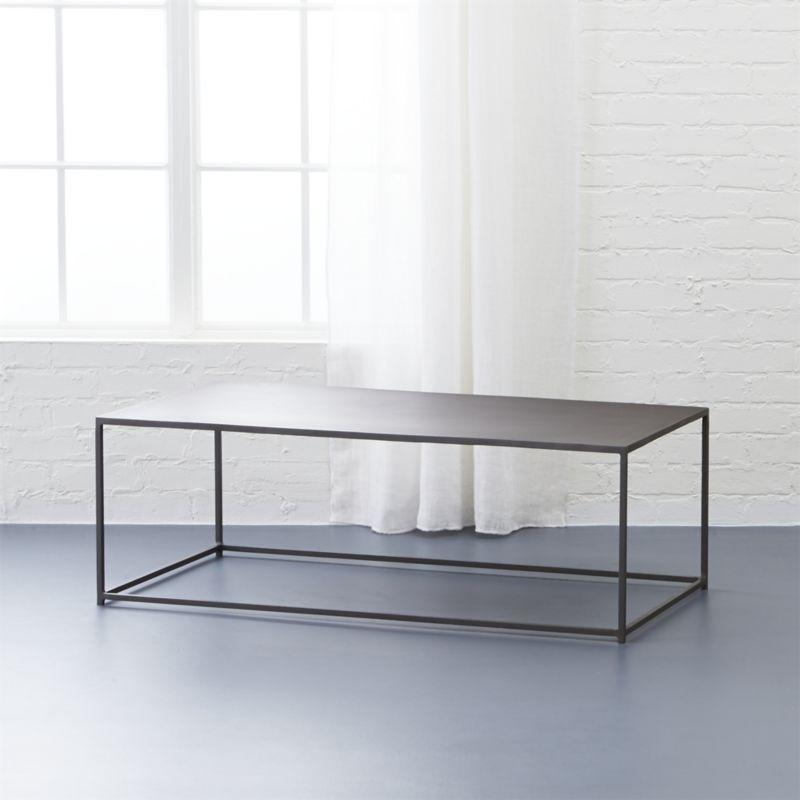 Black Coffee Tables | Cb2 In Darbuka Black Coffee Tables (View 28 of 40)