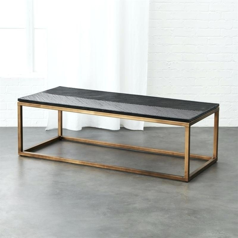Black Coffee Tables Cb2 Mill Table Decoration Items Hsn Code Regarding Mill Coffee Tables (Image 6 of 40)