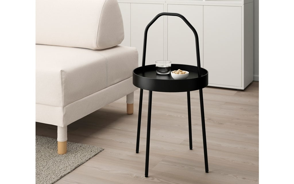 Black Coffee Tables | Ikea Inside Kai Small Coffee Tables (Image 7 of 40)