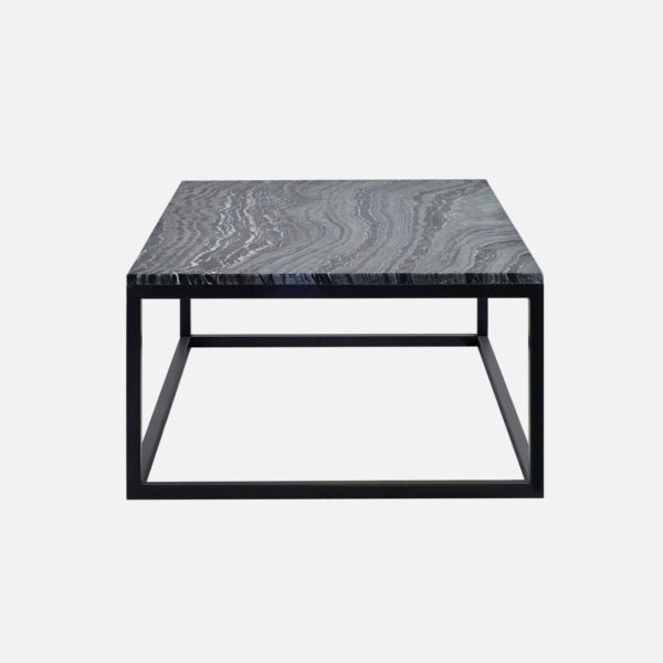 Black Forest Marble Coffee Table With Iron Marble Coffee Tables (Image 5 of 40)