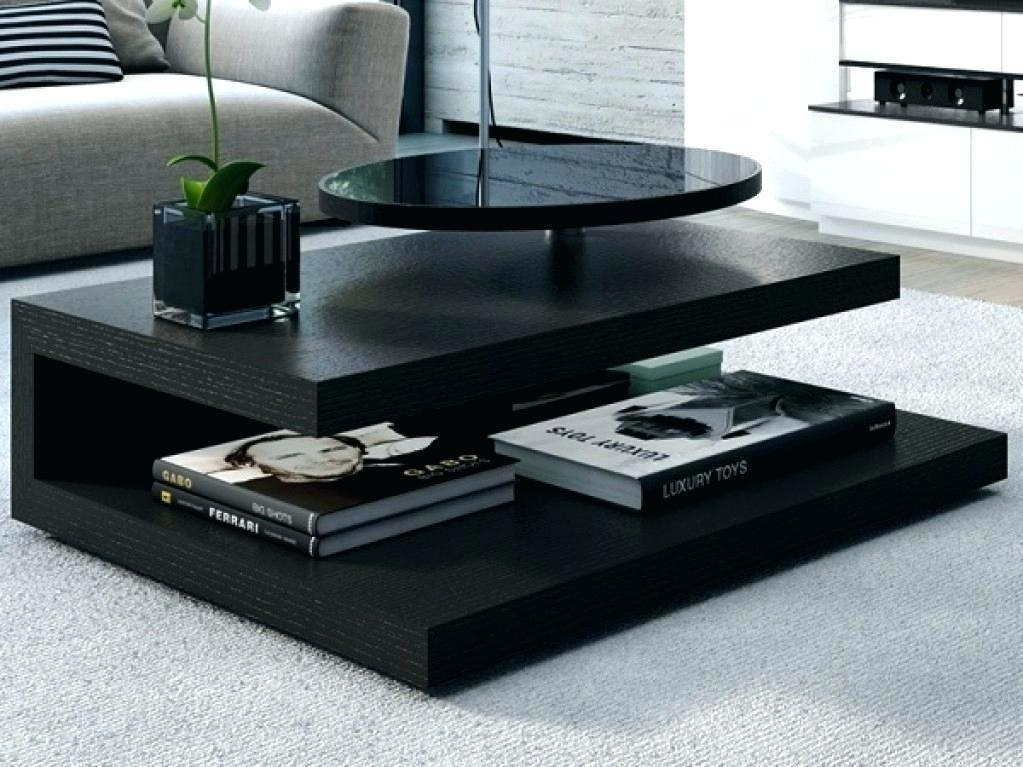 Black Modern Coffee Table Furnitures Unique – Smdqueen (View 20 of 40)