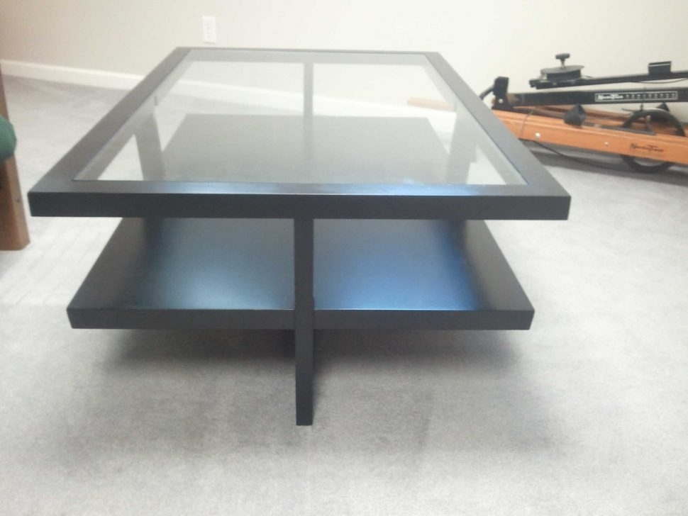Black Modern Coffee Table (View 25 of 40)