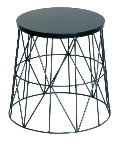 Black Wire Coffee Table – Amibes Inside Black Wire Coffee Tables (Image 6 of 40)