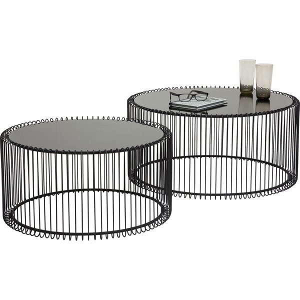 Black Wire Coffee Table | Wayfair.co (Image 8 of 40)