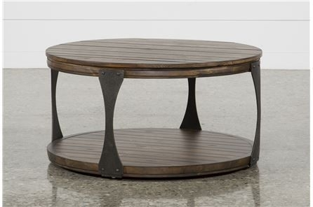Blanton Round Cocktail Table | Pinterest With Mallard Cocktail Tables (View 4 of 40)