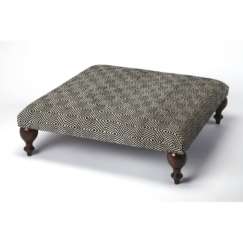 Bloomsbury Market Wilshire Cocktail Ottoman | Wayfair Within Wilshire Cocktail Tables (Image 5 of 35)