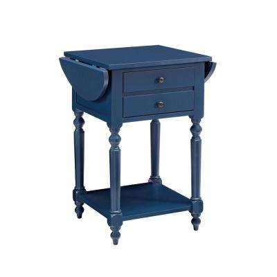 Blue – Coffee Tables – Accent Tables – The Home Depot Within Natural 2 Drawer Shutter Coffee Tables (View 21 of 40)