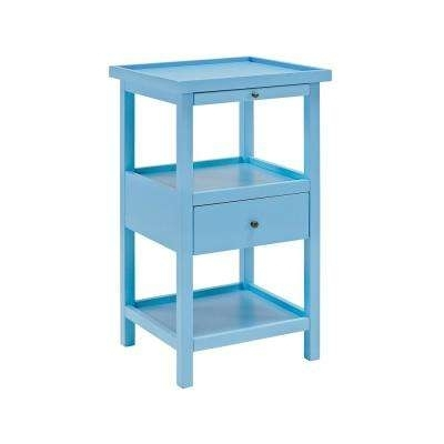Blue – Coffee Tables – Accent Tables – The Home Depot Within Palmer Storage Cocktail Tables (Image 3 of 40)