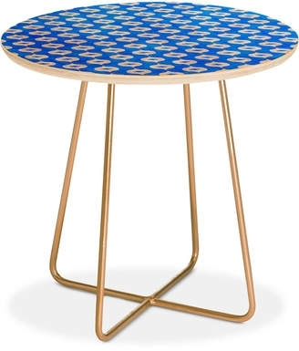 Blue End Table – Shopstyle In Casbah Coffee Side Tables (Image 6 of 40)