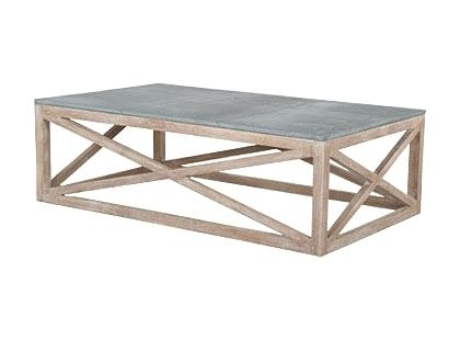 Blue Stone Coffee Table In Bluestone Rustic Black Coffee Tables (Image 6 of 40)