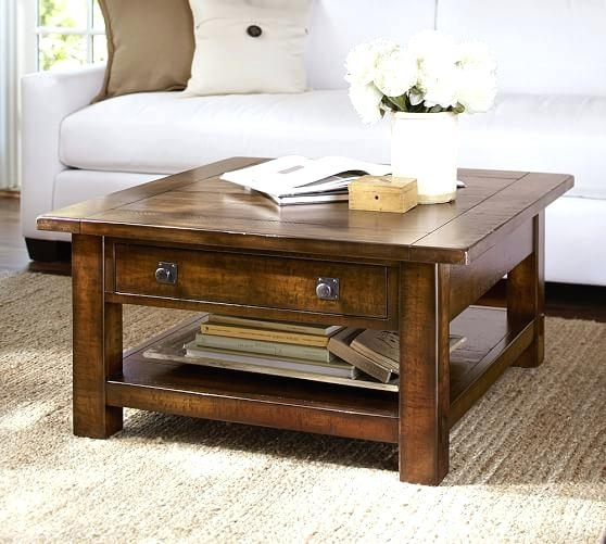Bluestone Coffee Table Crate And Barrel Benchwright Square Coffee With Bluestone Rustic Black Coffee Tables (Image 10 of 40)