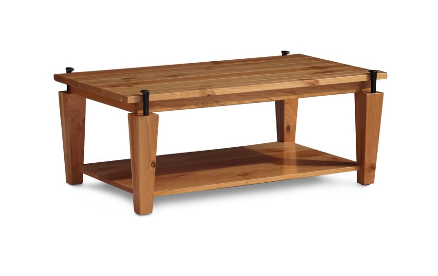 B&o Railroad© Spike Coffee Table From Simply Amish Furniture Pertaining To Laurent Lift Top Cocktail Tables (Image 12 of 40)