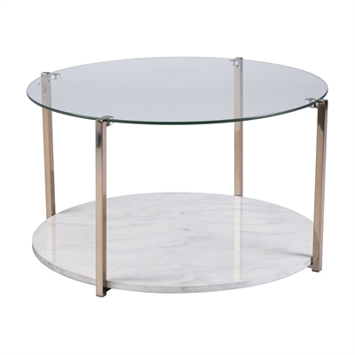 Boston Loft Furnishings Anson Coffee Table | Lowe's Canada Intended For Anson Cocktail Tables (Photo 1 of 40)