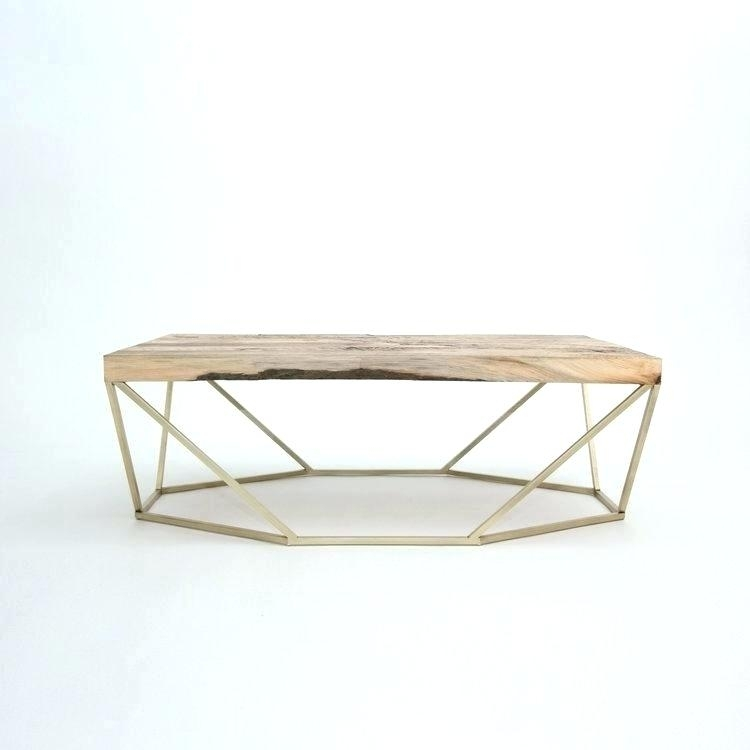 Brass And Wood Coffee Table – Offlineauv Inside Joni Brass And Wood Coffee Tables (View 7 of 40)
