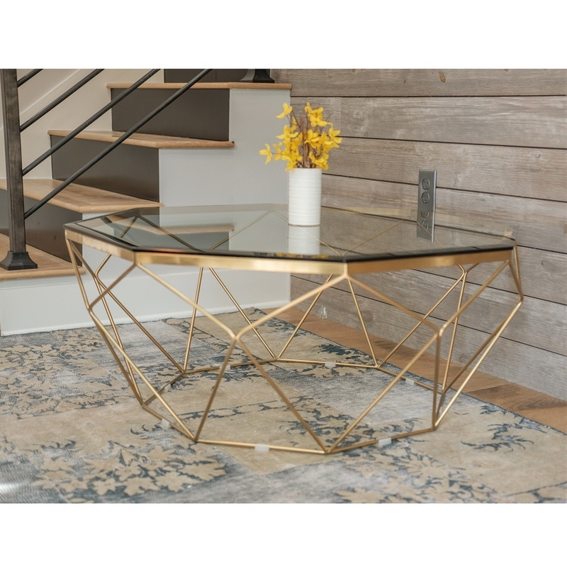 Brass Material Coffee Table With Unique Contemporary Legs – Almosthomebb For Rectangular Coffee Tables With Brass Legs (View 7 of 40)