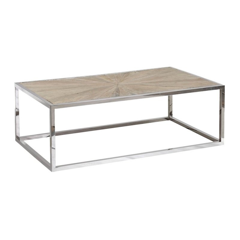 Brayden Studio Paulsen Parquet Coffee Table | Wayfair With Parquet Coffee Tables (Image 8 of 40)