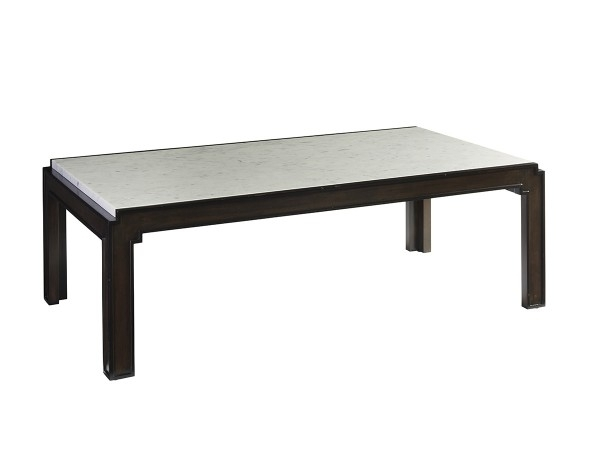 Brentwood Doheny Rectangular Cocktail Table | Lexington Home Brands Regarding Wilshire Cocktail Tables (Image 6 of 35)