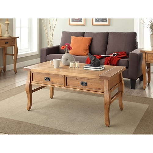 Brighton Hill Santa Fe Antique Pine Coffee Table 76055Ant01U | Bellacor Pertaining To Antique Pine Coffee Tables (Image 22 of 40)